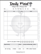 free printable food journal