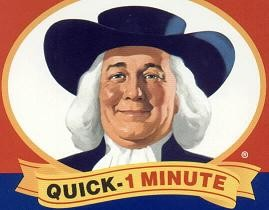 Quaker Oatmeal Dude