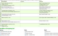 online meal planning software
