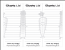 free downloadable blank shopping list