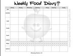 weekly food diary